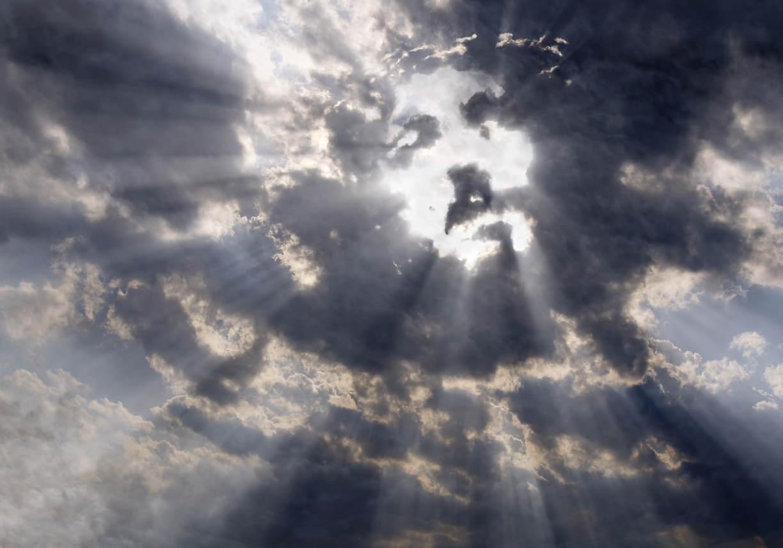 Jezus in de wolken