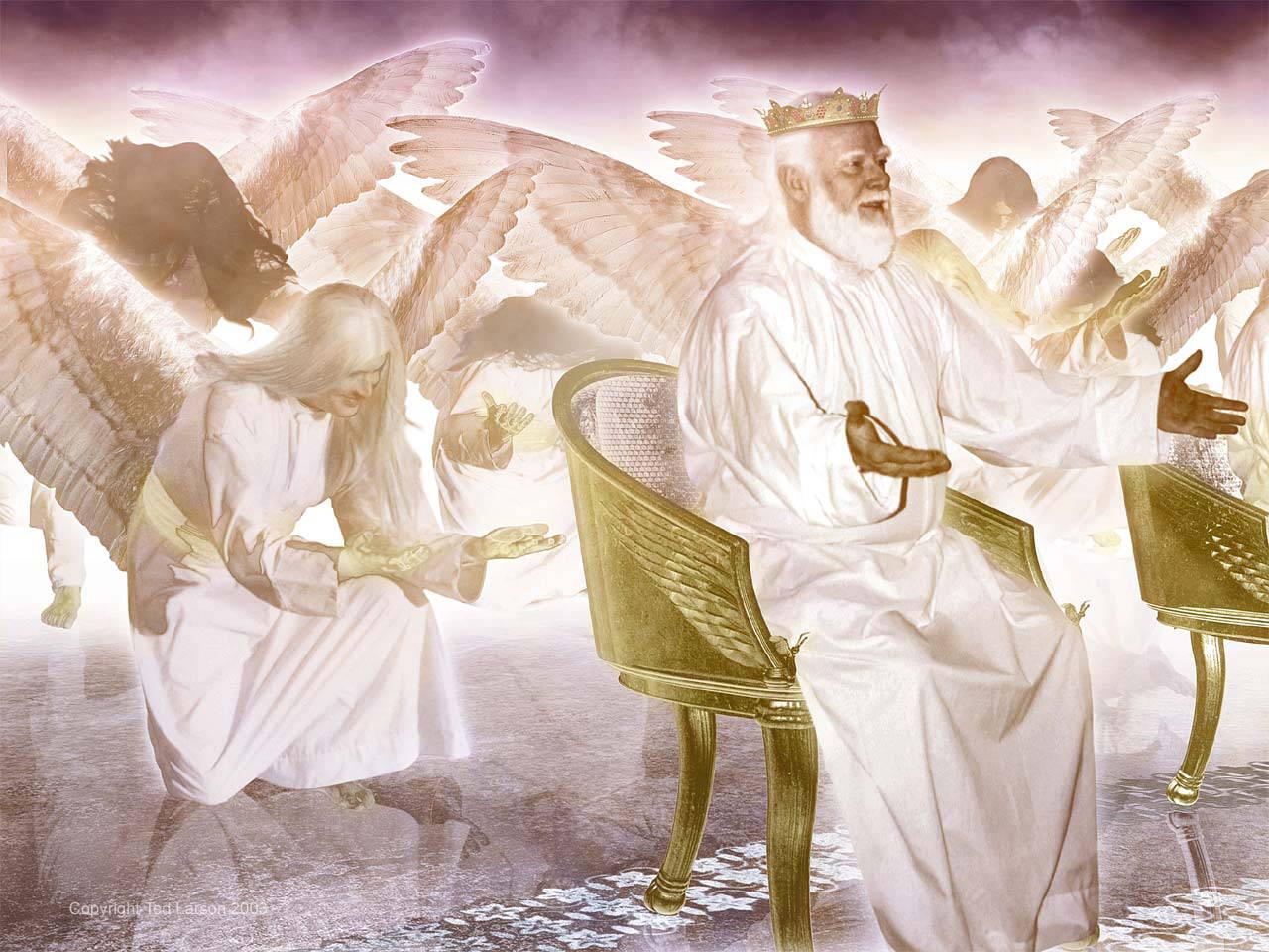 Engelen en oudsten