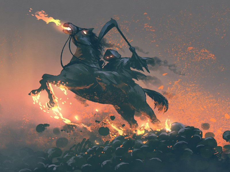 vurige paard
