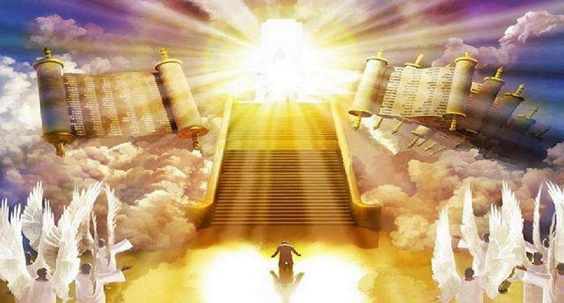 Boekrollen engelen